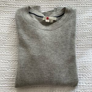 Boden crewneck cashmere sweater, size M in grey